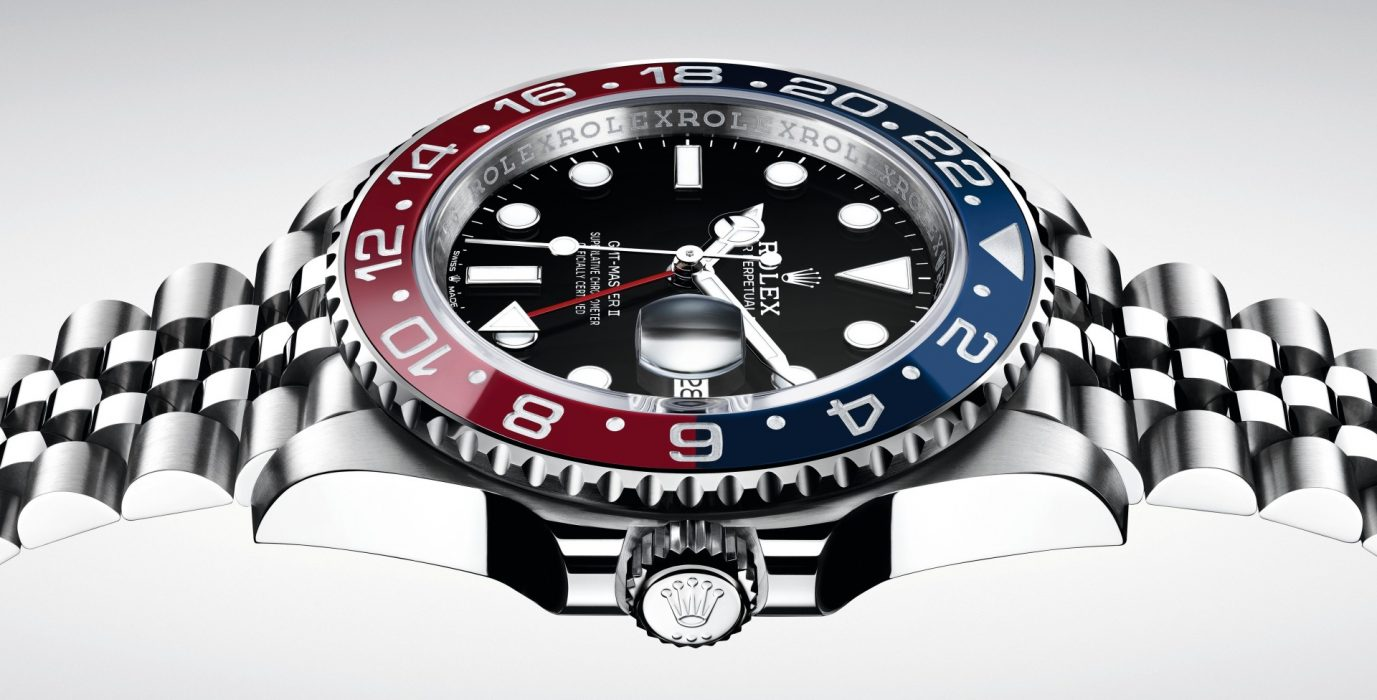 【Baselworld 2018錶展報導】環球腕錶:ROLEX Oyster Perpetual GMT-Master II(蠔式恒動格林威治型 II)蠔式鋼款腕錶