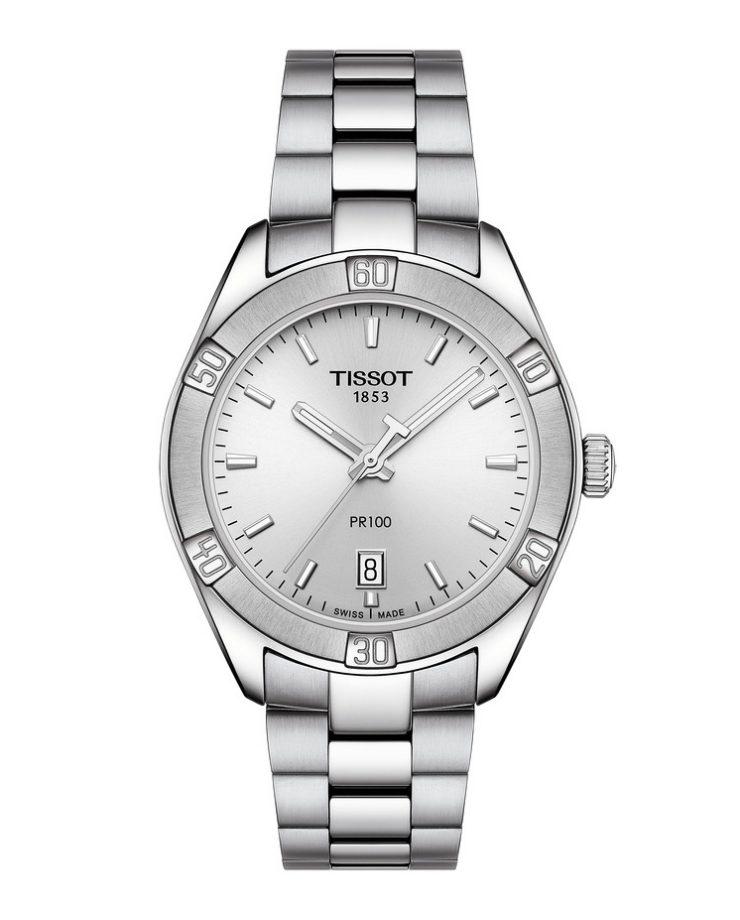 PR100,不鏽鋼錶殼,錶徑36毫米,建議售價NTD10,900