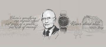 """瓦爾特.朗格信念的體現 :獨一無二的鋼製朗格1815 """"Homage to Walter Lange""""腕錶將作慈善拍賣"""