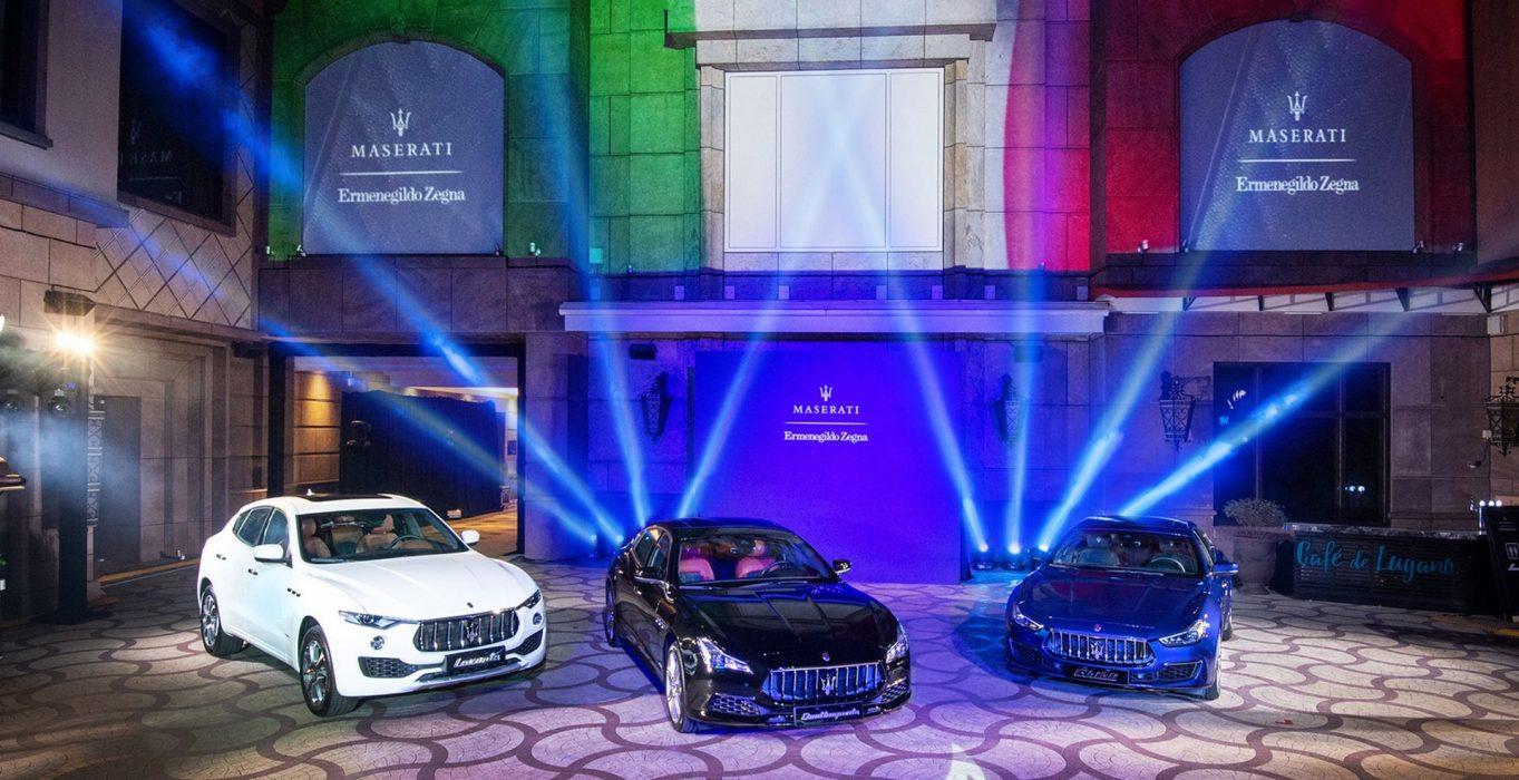 買車送西裝 Maserati奢華內裝邀Ermenegildo Zegna加持