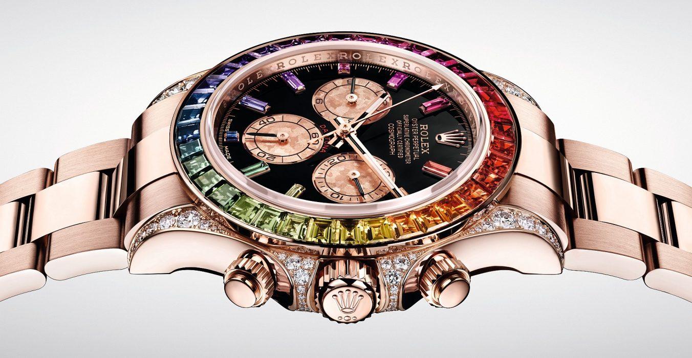 傳奇計時錶:勞力士Oyster Perpetual Cosmograph Daytona鑲寶石款式