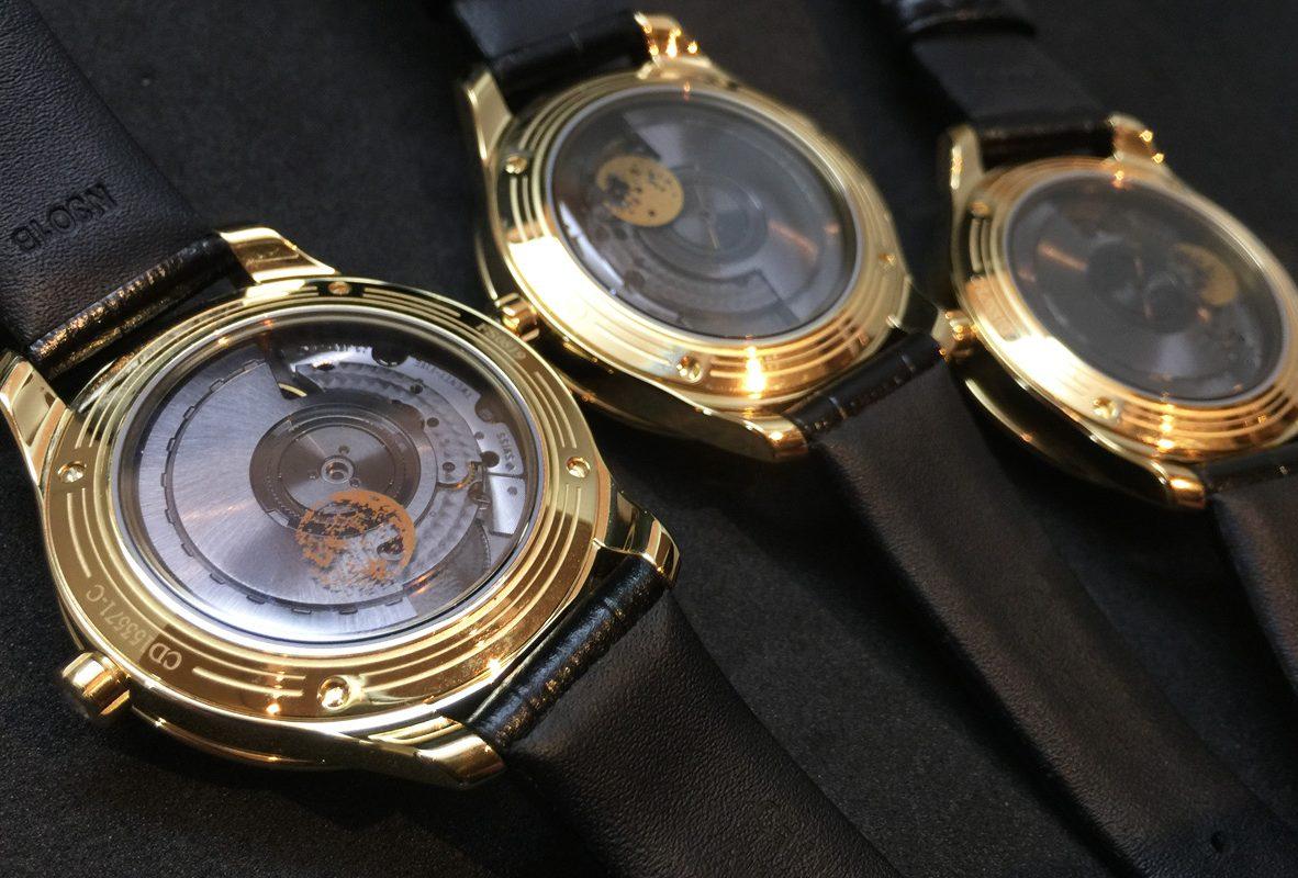 Dior Viii Montaigne Clair De Lune系列腕錶錶背。