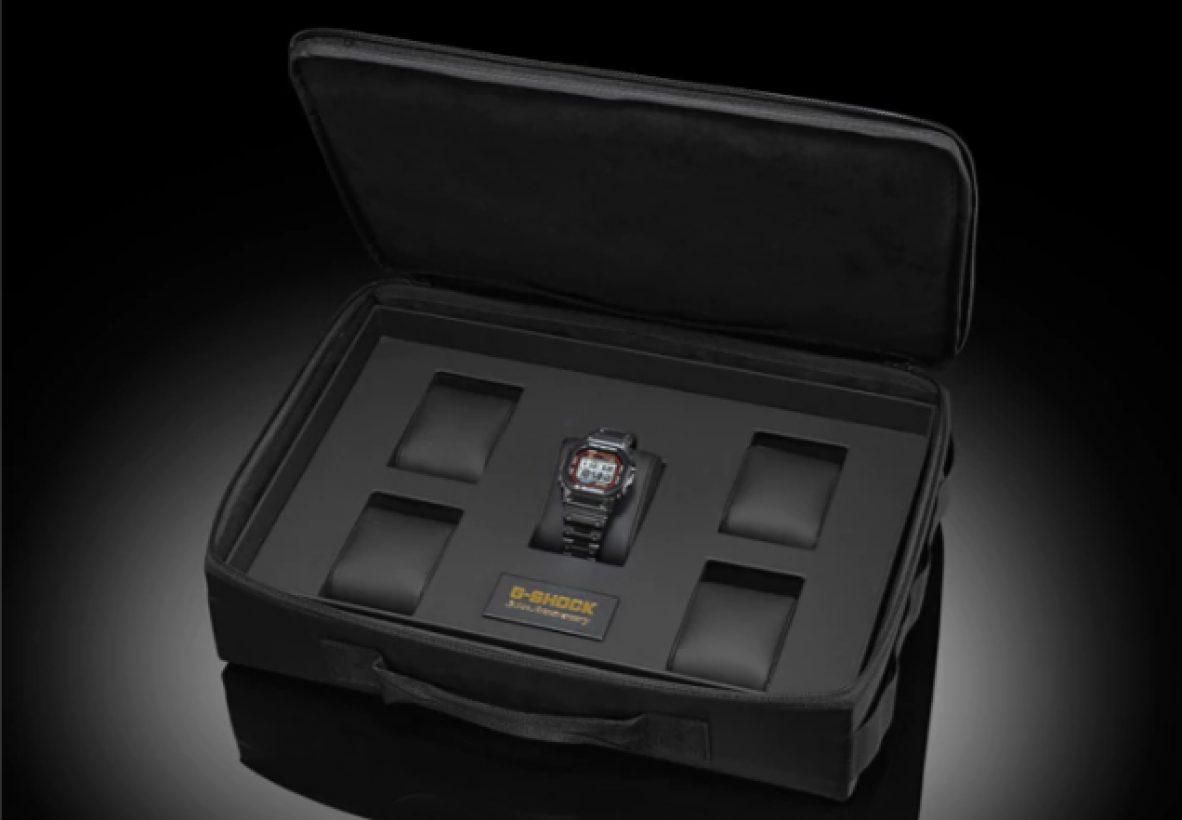 G-SHOCK x PORTER ORIGINAL特製錶盒,可輕鬆容納5只錶款。