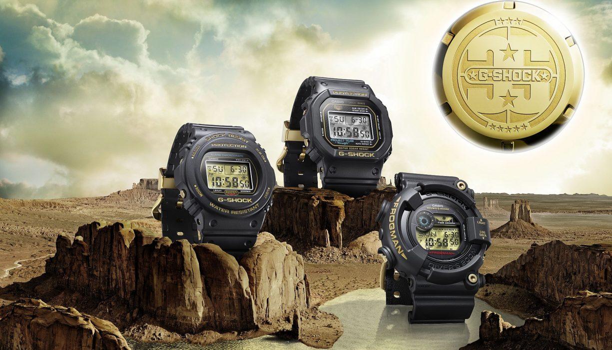 榮耀的金色設計象徵光輝歲月:G-SHOCK 35周年紀念錶款 第四波「ORIGIN GOLD」系列