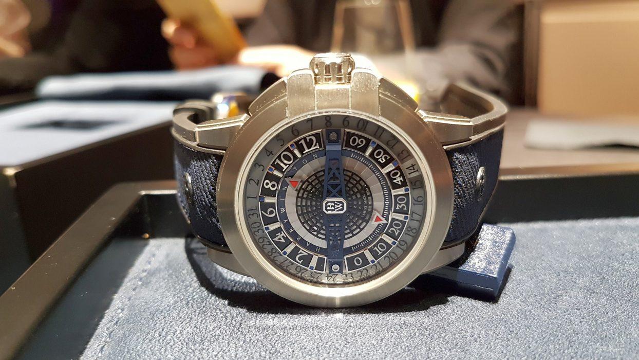 【Baselworld 2018錶展直擊】海瑞溫斯頓Harry Winston Project Z12 腕錶