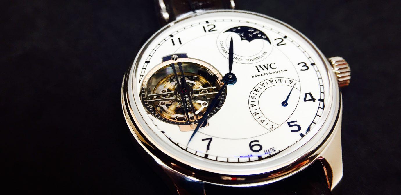 經典,確實存在:IWC 150週年葡萄牙限量腕錶