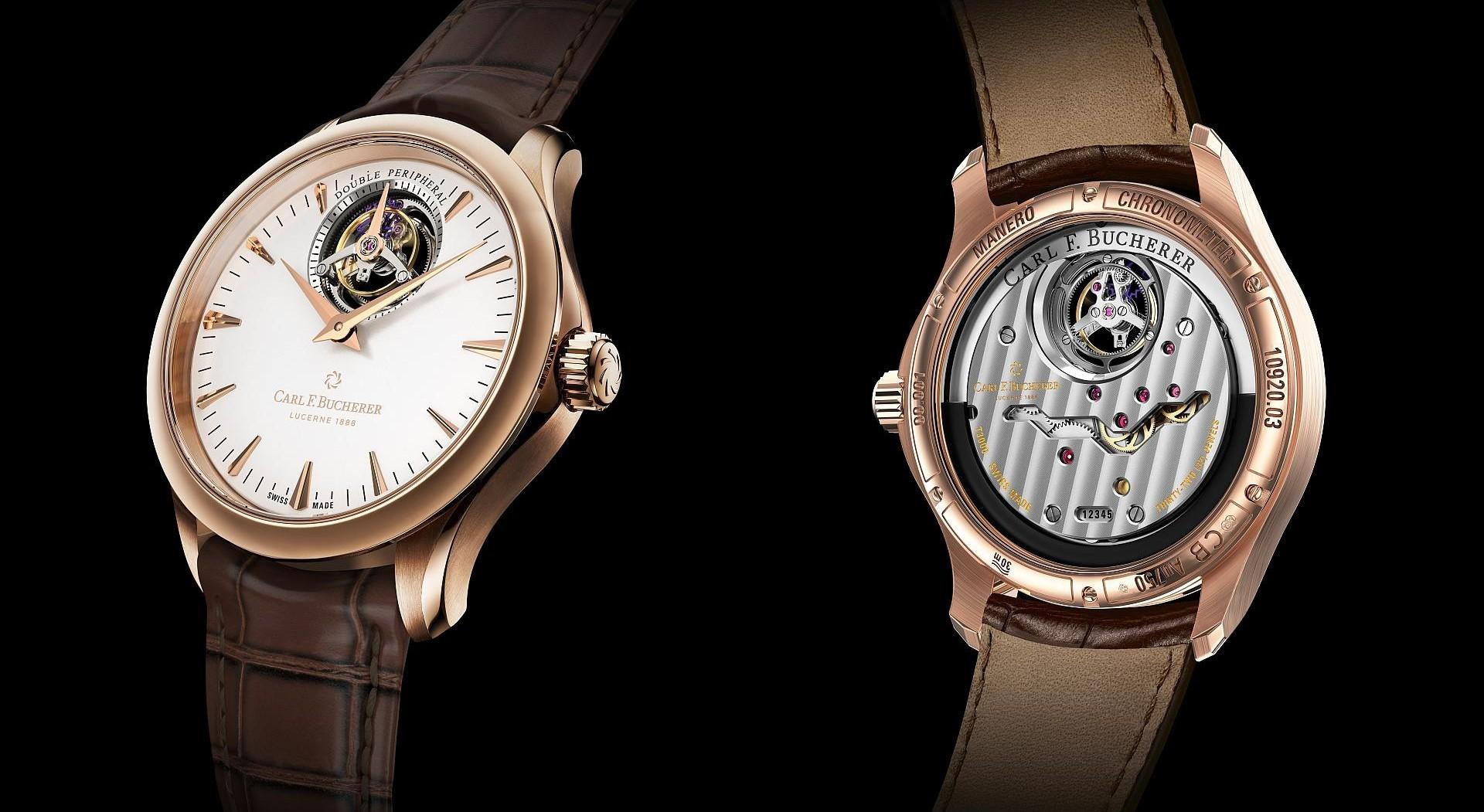【Baselworld 2018錶展報導】寶齊萊Manero Tourbillon DoublePeripheral馬利龍雙外緣陀飛輪腕錶
