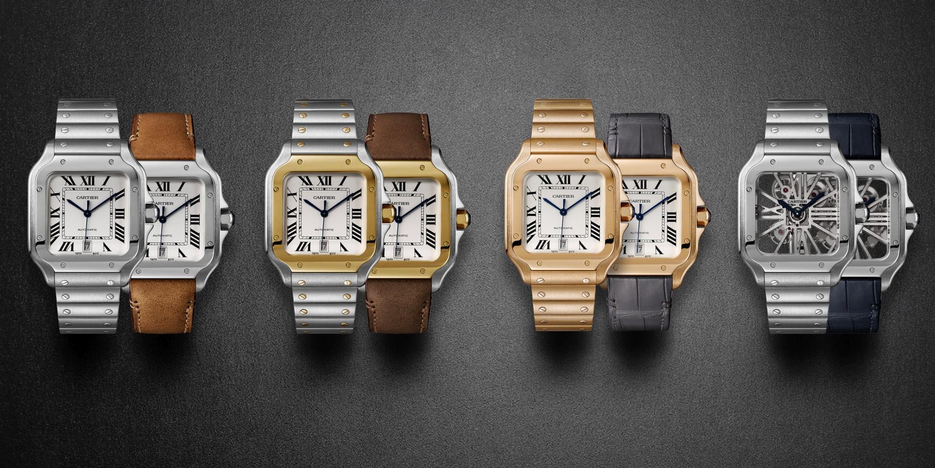 傑克·葛倫霍成卡地亞Santos de Cartier腕錶 全球形象大使