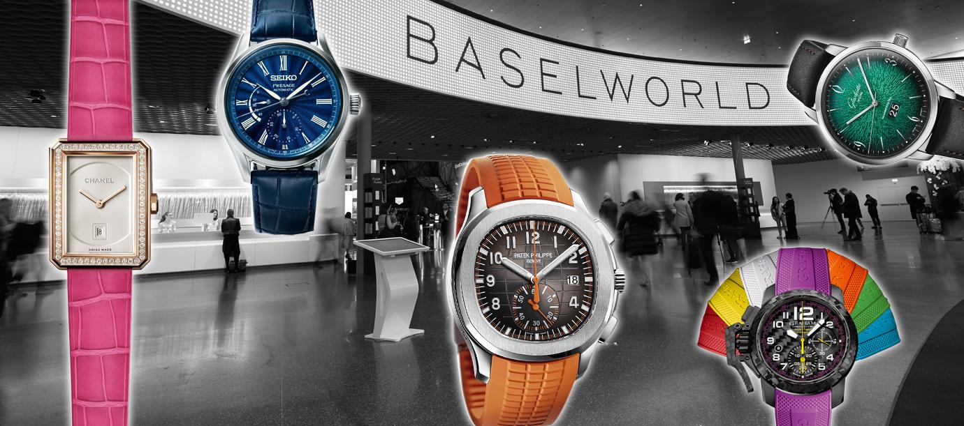 繽紛時刻:Baselworld 2018觀察報告
