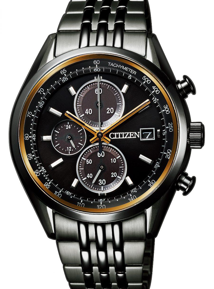 光動能1/5秒計時碼錶,型號CA0456-85E,參考售價約NTD13,800。