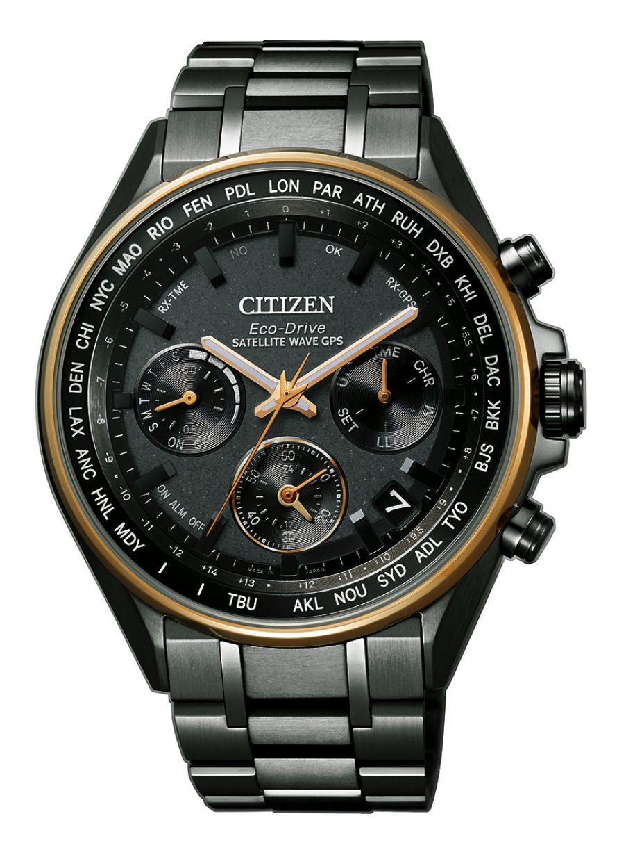 光動能GPS衛星對時超級鈦™腕錶F950,型號CC4404-58F,參考售價約NTD75,800。