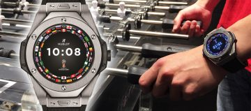 最聰明的足球錶 Hublot Big Bang 2018世足賽官方腕錶