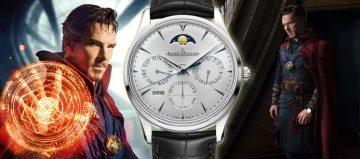 《復仇者聯盟3:無限之戰》英雄們的腕錶 Jaeger Lecoultre與奇異博士