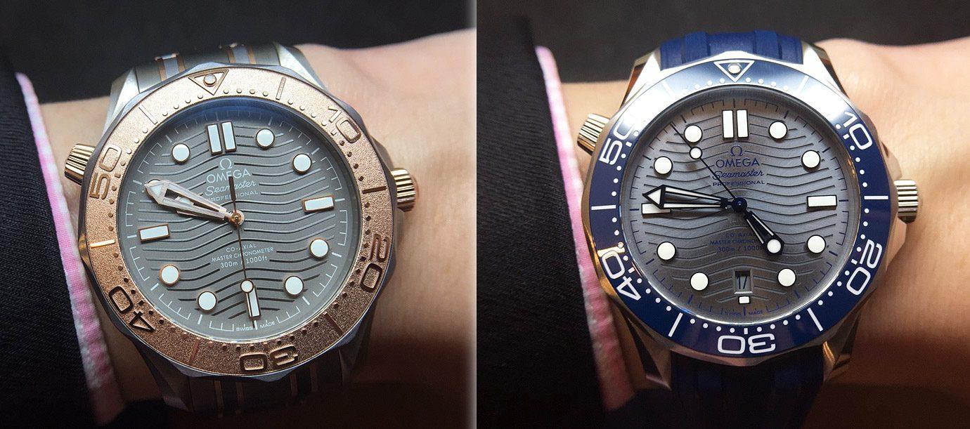 25週年穿新衣 OMEGA海馬潛水300米腕錶