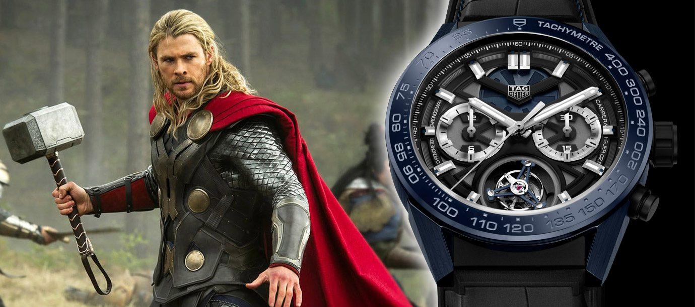 《復仇者聯盟3:無限之戰》英雄們的腕錶 TAG Heuer與雷神索爾