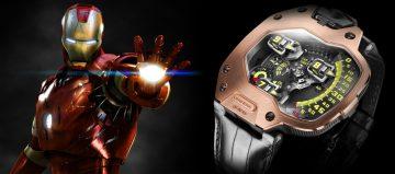 《復仇者聯盟3:無限之戰》英雄們的腕錶 URWERK與鋼鐵人