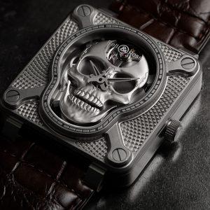 愛笑的骷髏:Bell & Ross BR 01 Laughing Skull腕錶
