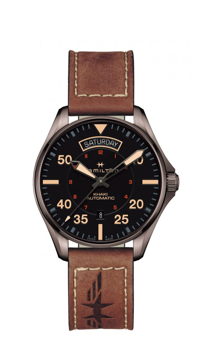 Khaki Pilot Day Date 百年紀念腕錶