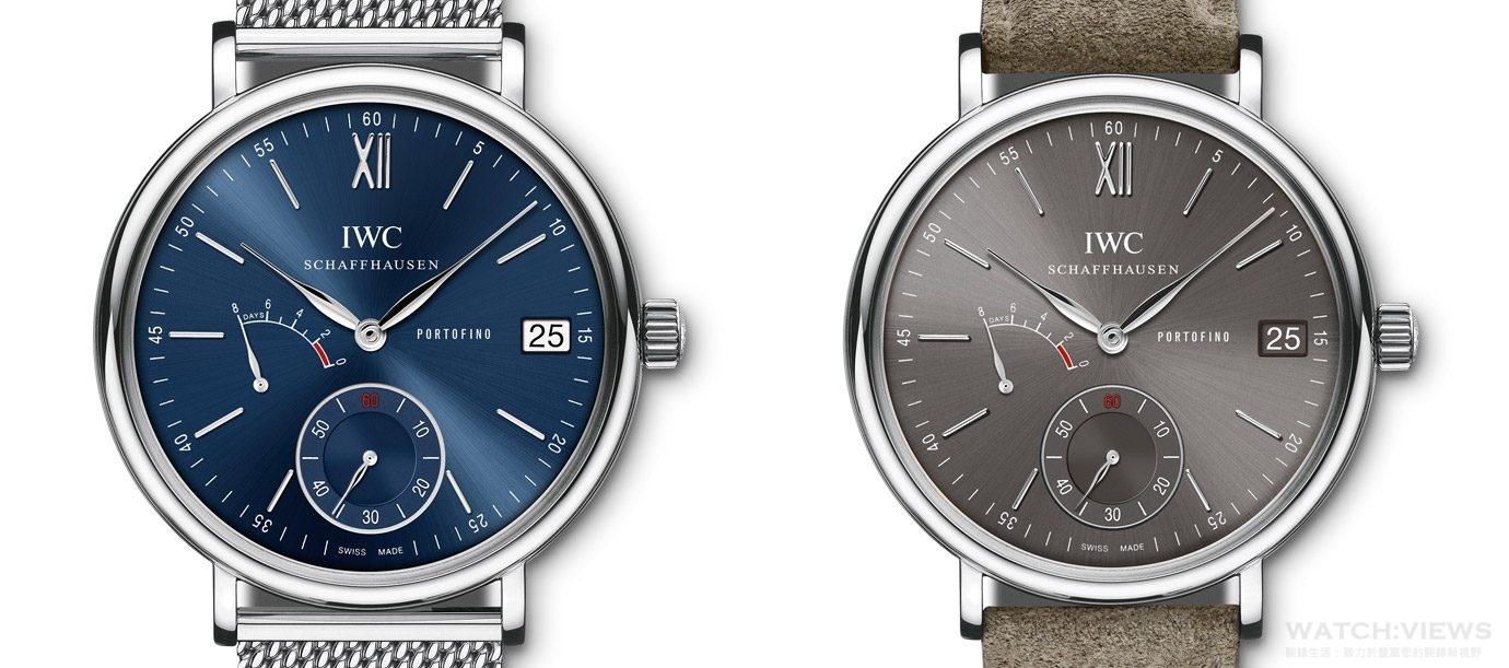 全新搭配:IWC柏濤菲諾系列腕錶