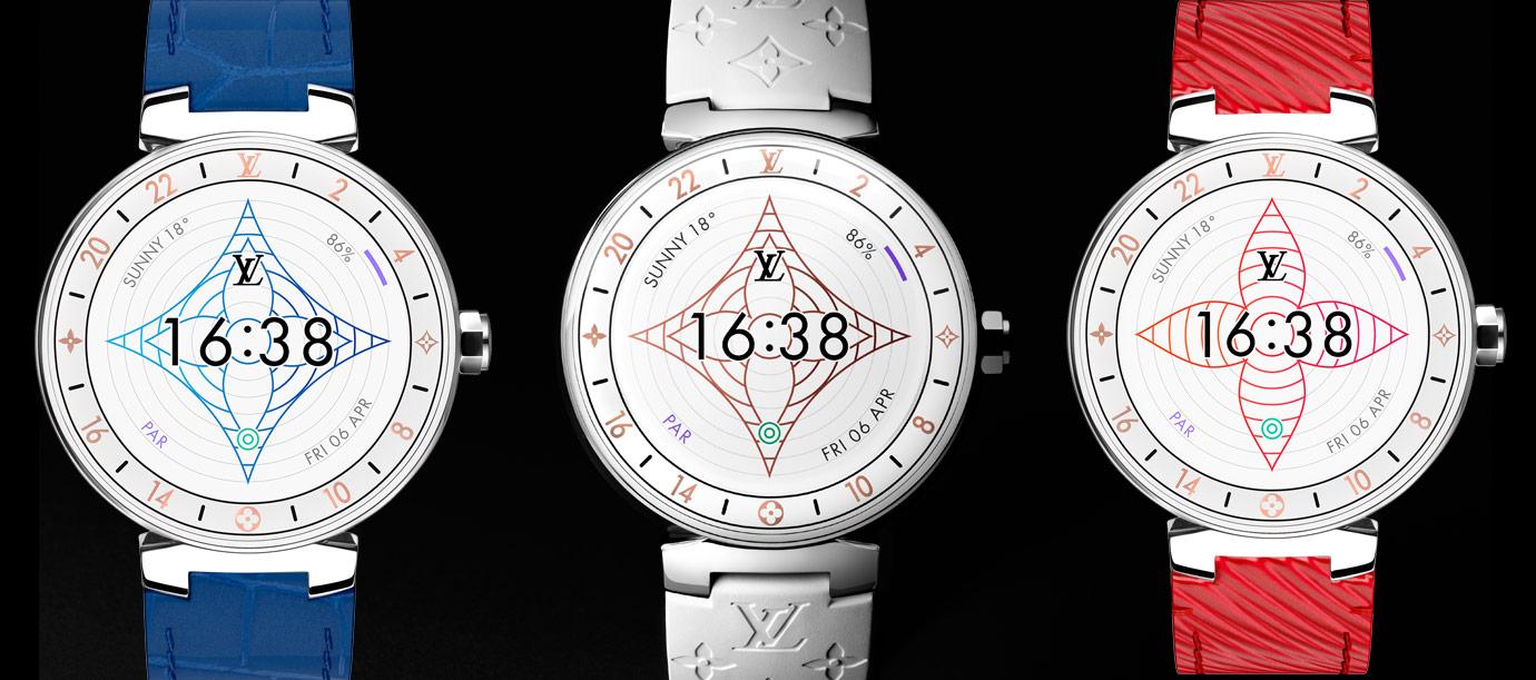 智慧再升級 路易威登Tambour Horizon Monogram White智能錶