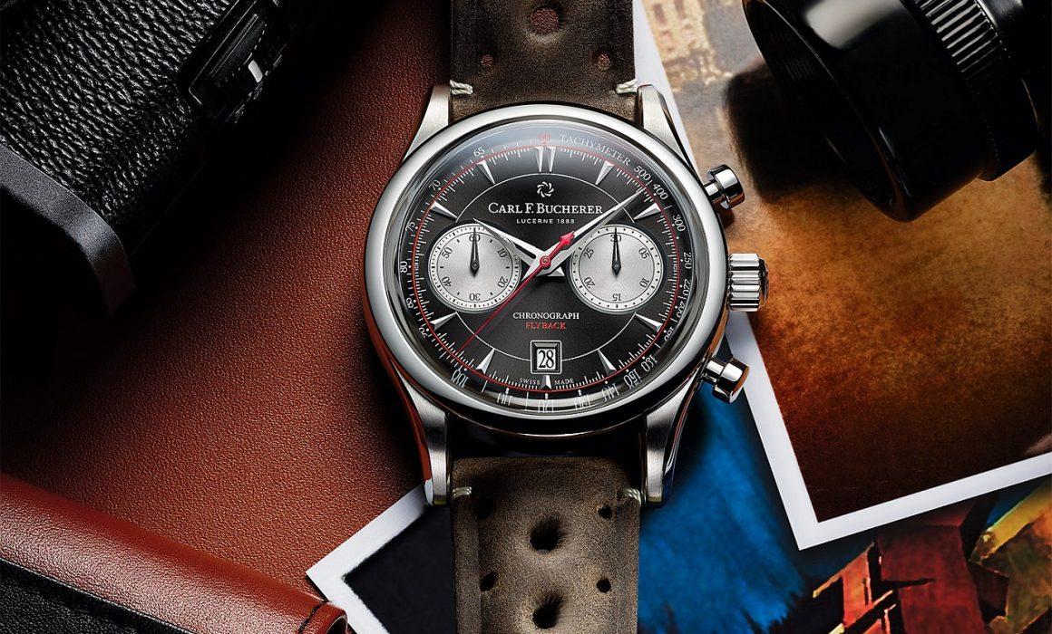 時尚感 復古風:寶齊萊Manero Flyback馬利龍飛返計時碼錶