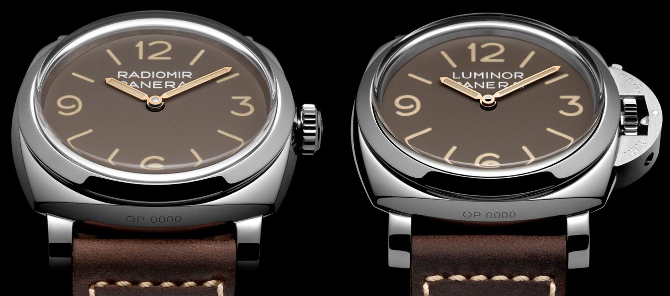 復古棕色風 沛納海Radiomir與Luminor全新特別版腕錶