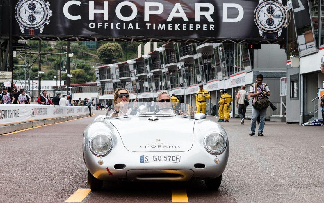紳士車手與熱愛精密機械的激情:蕭邦Grand Prix de Monaco Historique 2018競賽版腕錶