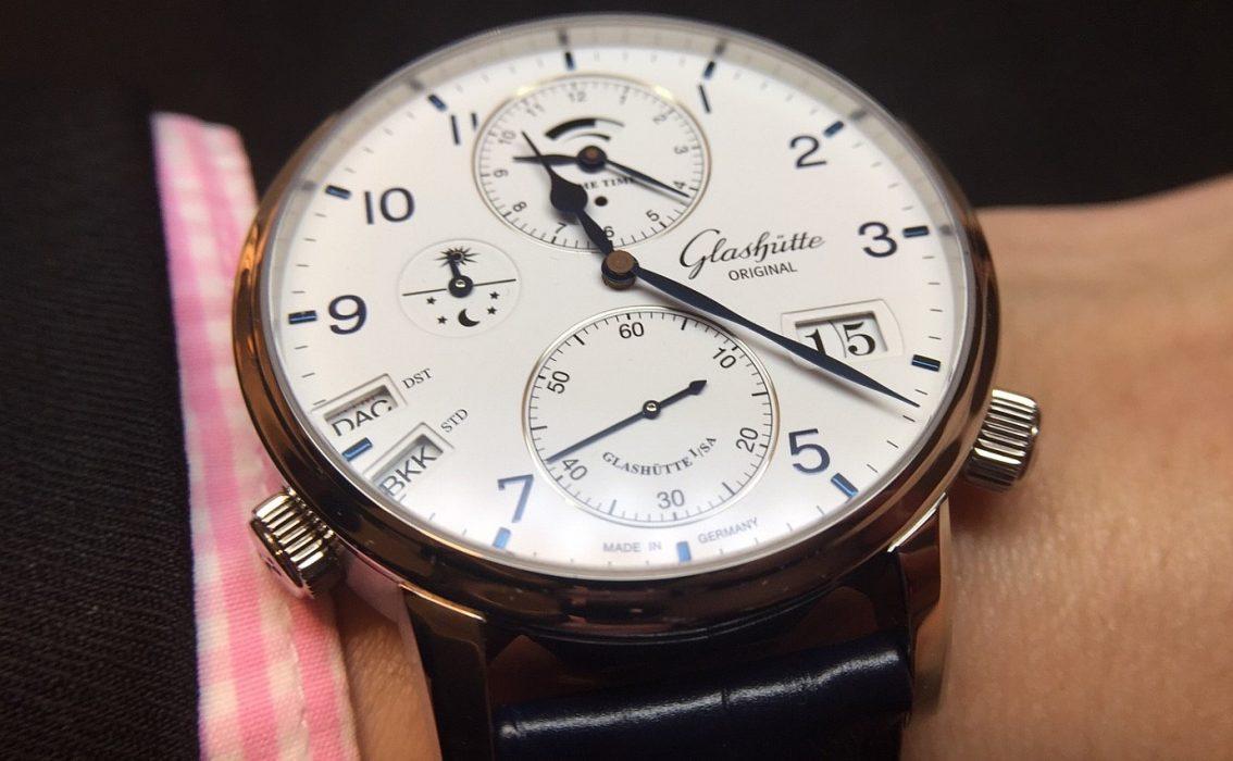 極簡主義的世界旅人,四海為家的時計:Glashütte Original Senator Cosmopolite議員世界時間腕錶