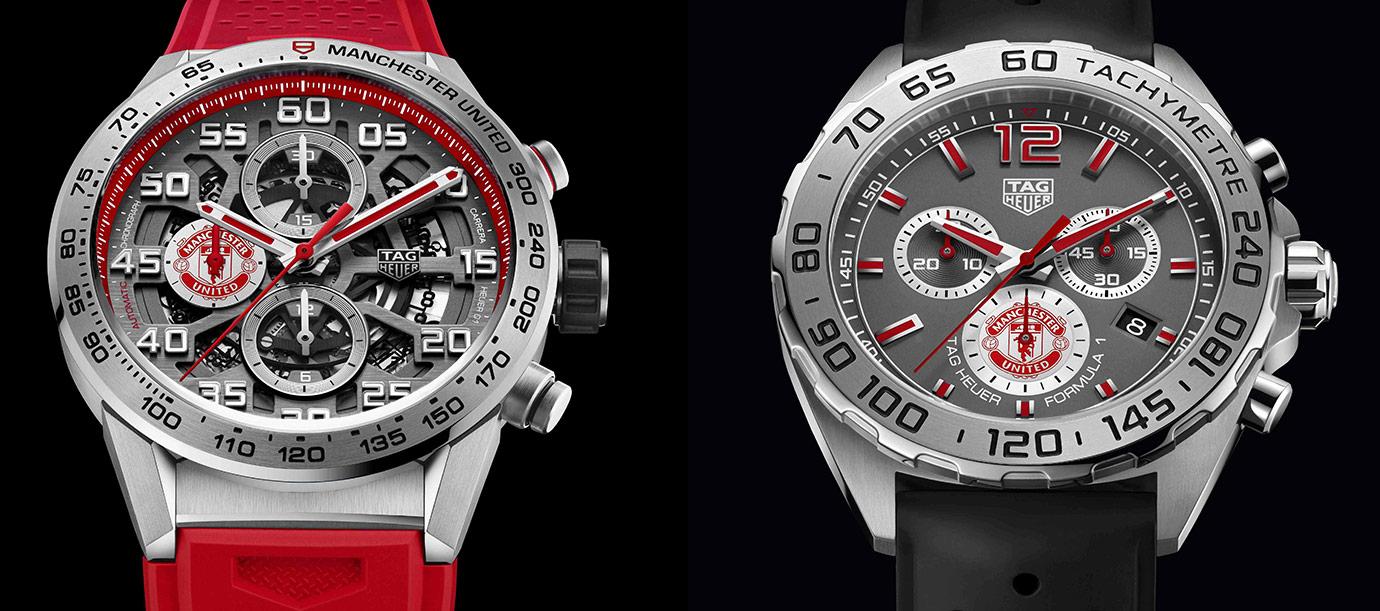 世足狂潮來襲 TAG Heuer曼聯特別版計時碼錶