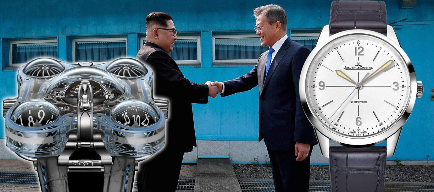 適合嗎?! 替兩韓領導人選選錶吧!
