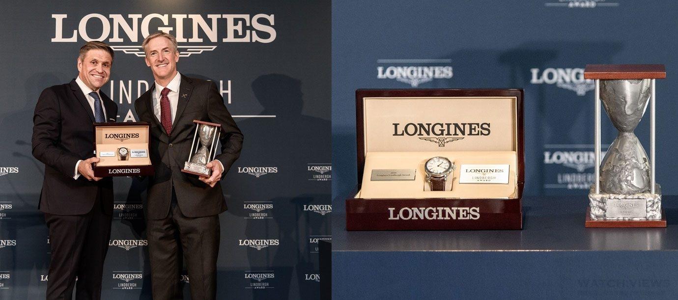 向祖父看齊 Erik Lindbergh榮獲首座浪琴表林白獎