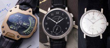 朗格爺爺、鋼鐵人與貓王腕錶齊聚一堂 富藝斯拍賣三大亮點
