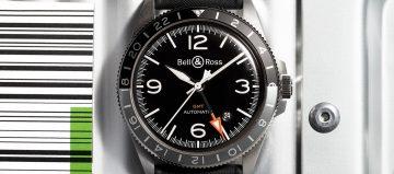旅行好夥伴:Bell & Ross  BR V2-93 GMT 24H 腕錶