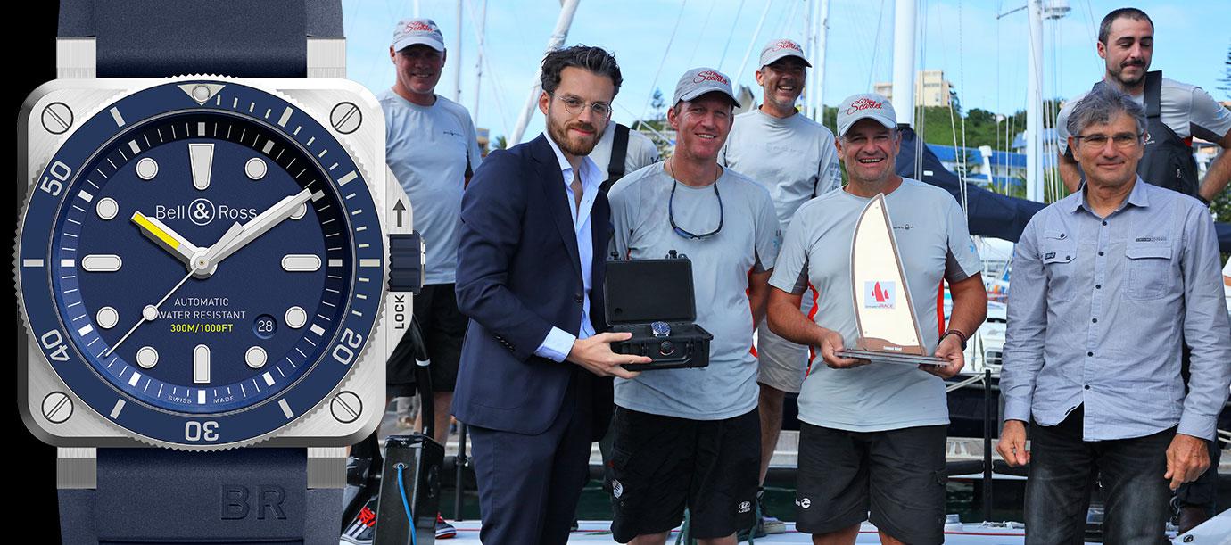 遨遊大海:Bell & Ross擔任第六屆新喀里多尼亞 Groupama帆船賽指定計時