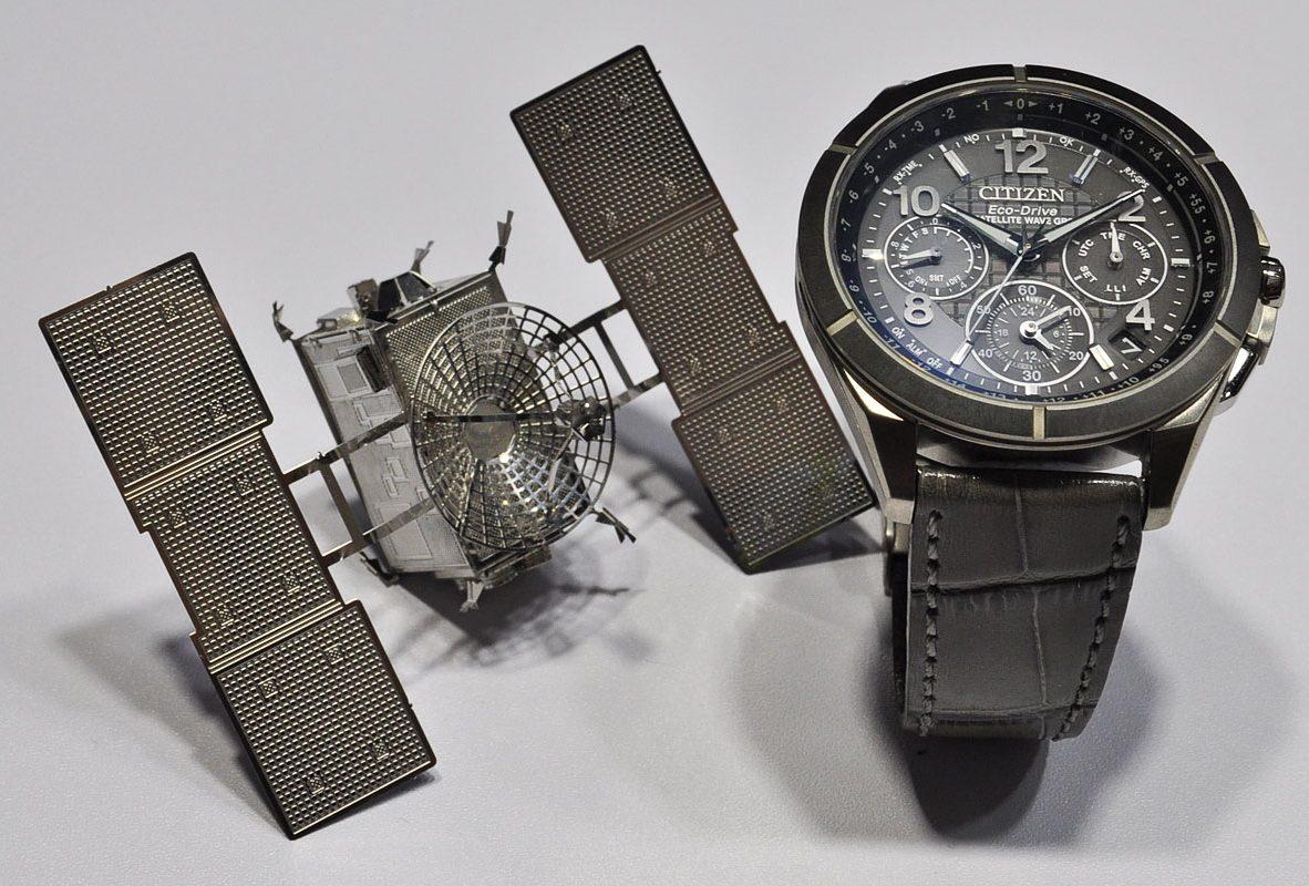 CITIZEN光動能GPS對時腕錶(CC9075-52F)