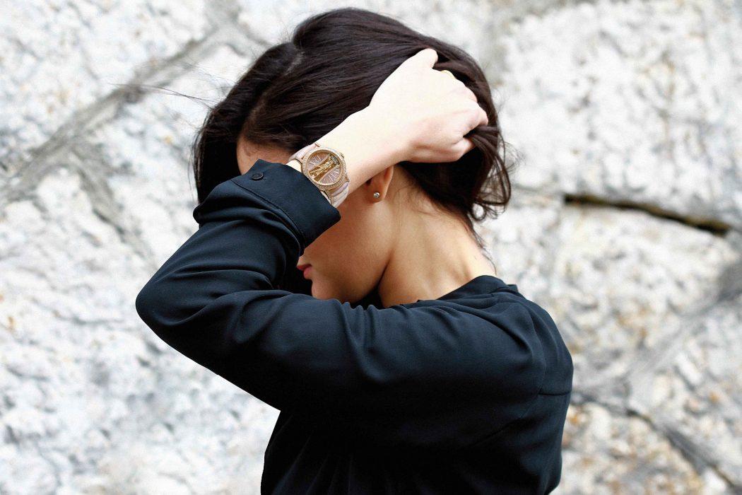締造奢華新高度:崑崙錶頂級珠寶時計—金橋系列圓形鑽錶
