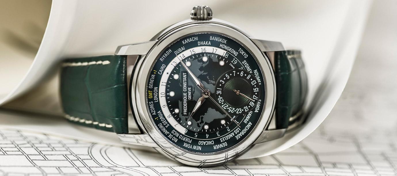 萬年曆、陀飛輪、世界時區:康斯登複雜功能錶款