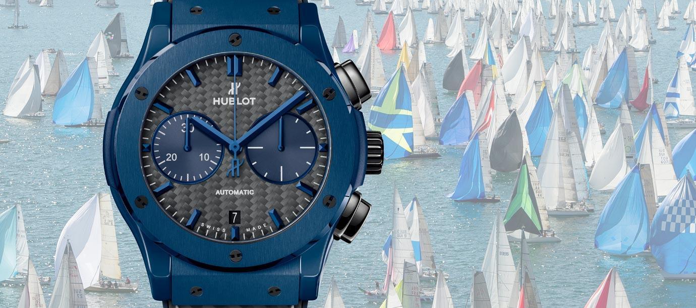 見證史上最大內陸湖帆船賽:Hublot Bold'Or Mirabaud 2018限量計時碼錶