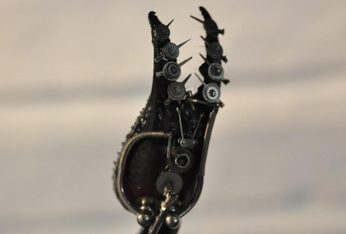 Scorpion Quintus(蠍子第5版本)螯上的快慢針