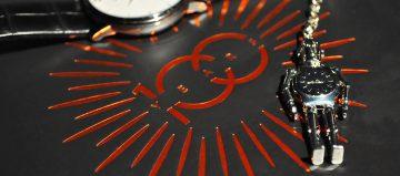 可愛機器人護身:Mido鑰匙圈送給您