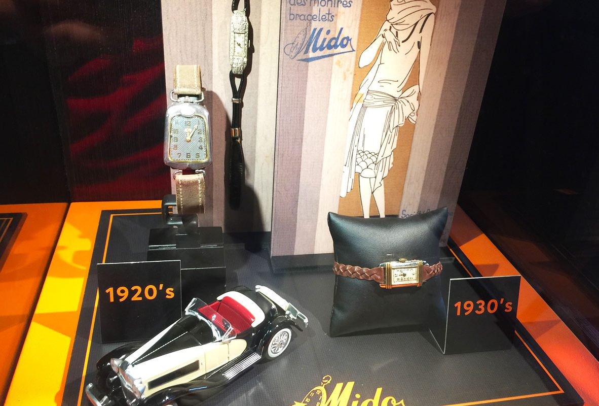 Mido古董腕錶(1920-1930)