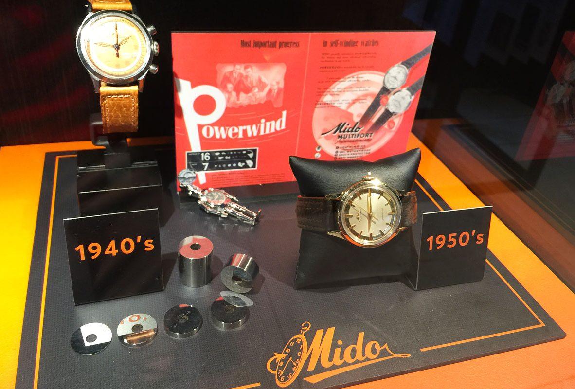 Mido古董腕錶(1940-1950)