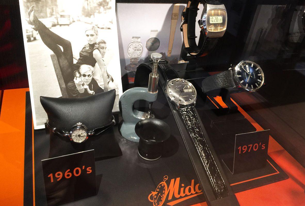 Mido古董腕錶(1960-1970)