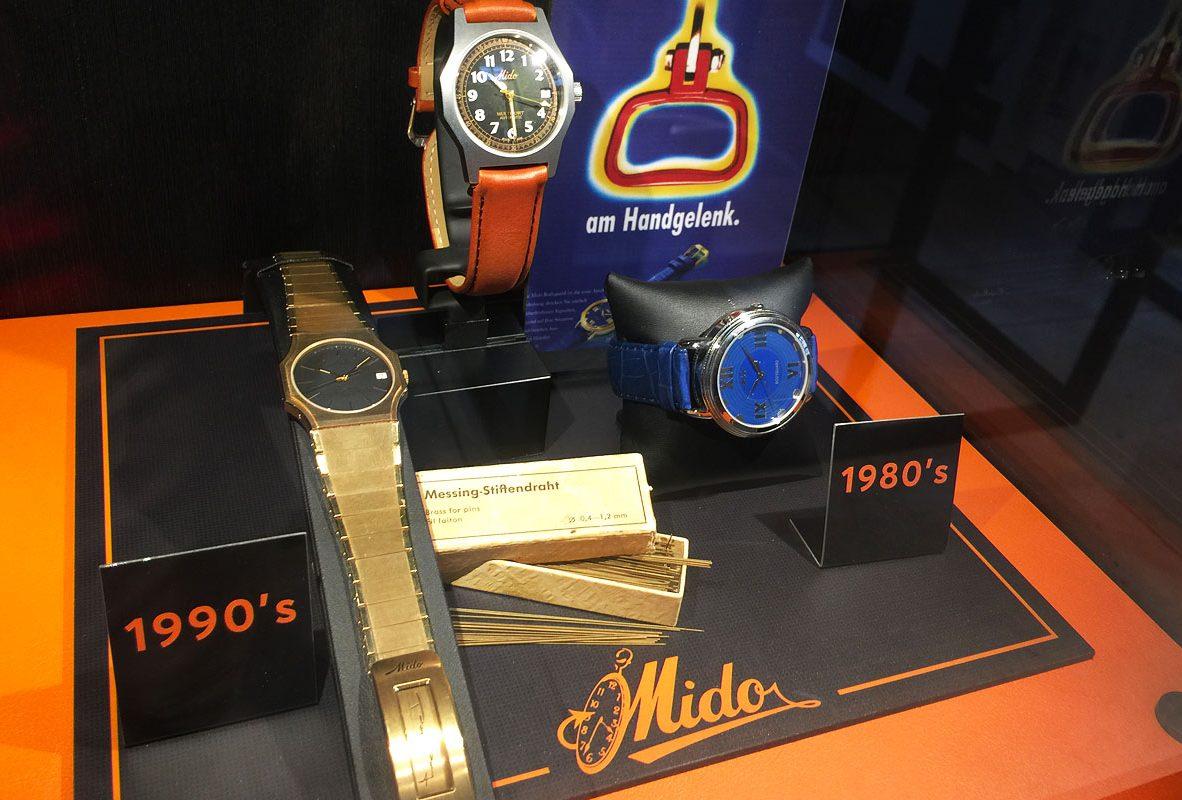 Mido古董腕錶(1980-1990)