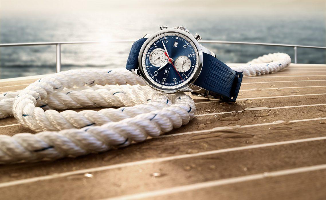 腕間的夏日風情: IWC萬國錶推出葡萄牙系列航海精英計時腕錶夏日特別版