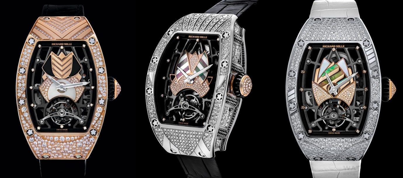 用它作為護身符 RICHARD MILLE RM 71-01 Talisman自動上鍊女士陀飛輪腕錶