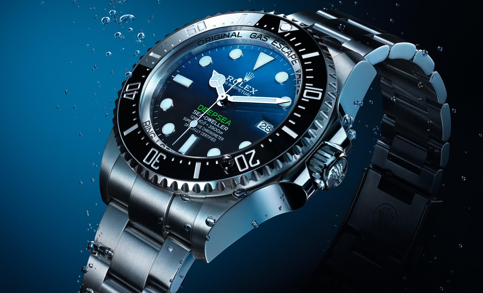 探索深海必備腕錶:勞力士新款Oyster Perpetual Rolex Deepsea