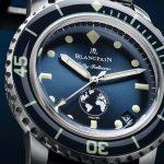 愛護海洋:Blancpain推出第三款五十噚「心繫海洋」限量版腕錶