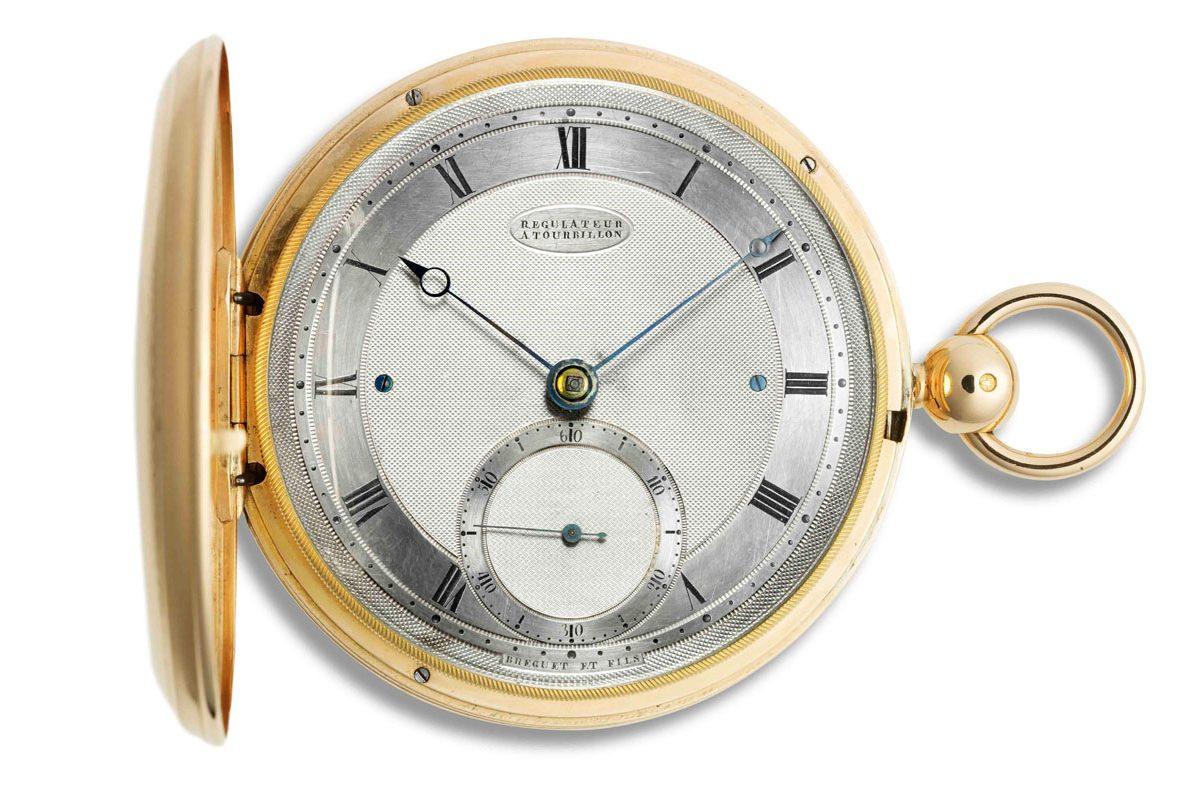 Breguet N°2567陀飛輪懷錶。
