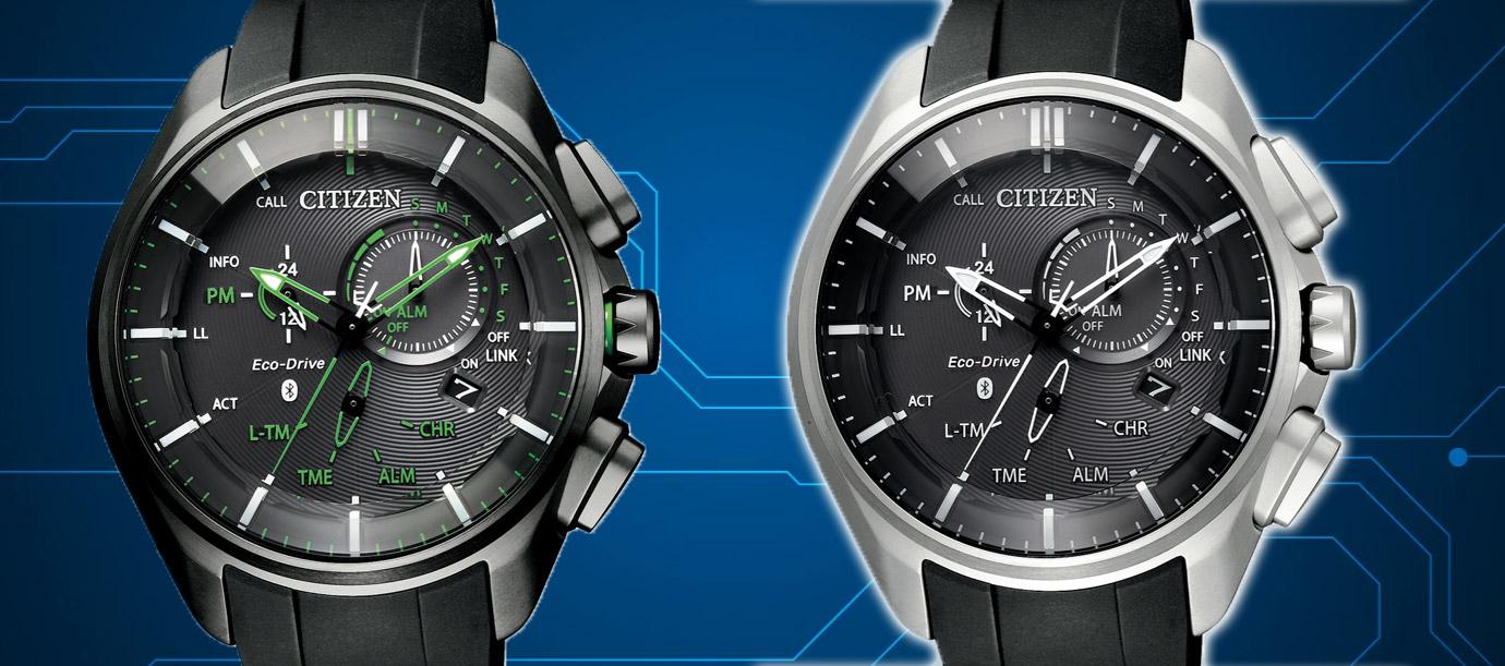 綠色極光來襲:CITIZEN光動能聰明錶